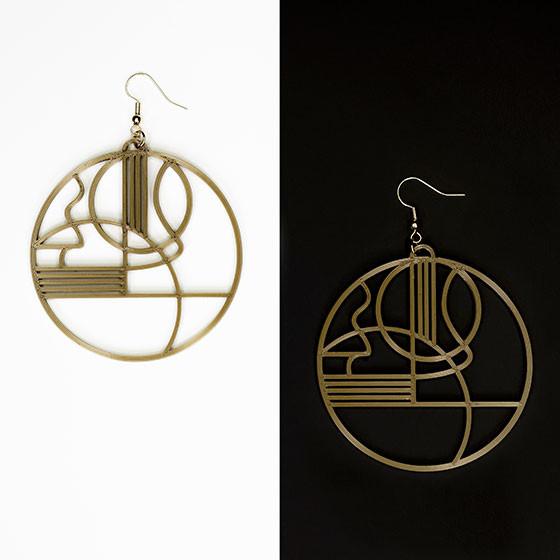 "Earrings (""Apollo"")"