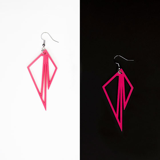 "Earrings (""Eros II"")"