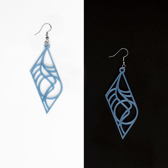 """Earrings (""""Hermes"""")"""