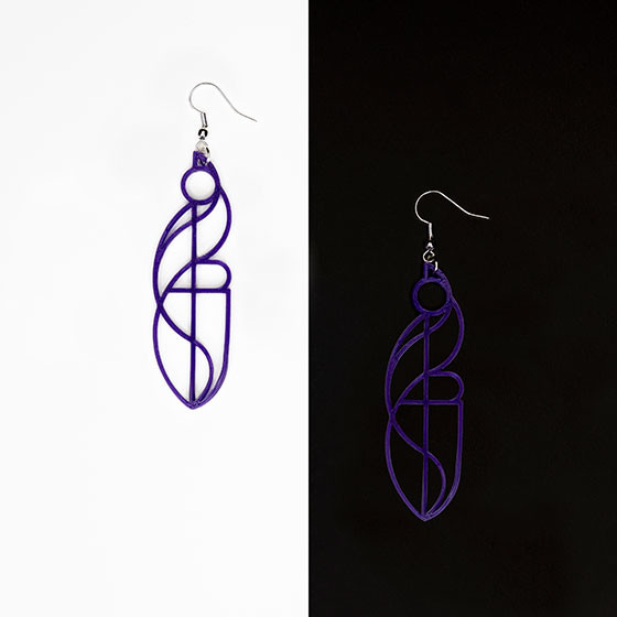 "Earrings (""Nike"")"